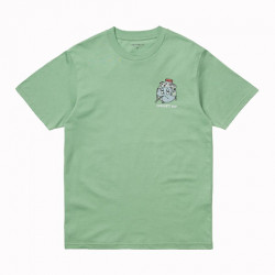 T-shirt CARHARTT WIP Ill World Mineral Green
