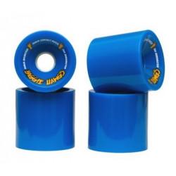 Roues Longboard HAWGS Biggie Blue 70mm 78A