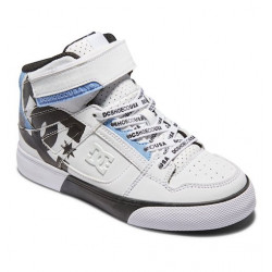 Chaussure Kid DC Pure HI SE White Black White