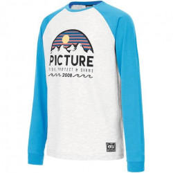 T-shirt Kid PICTURE Cross Picture Blue