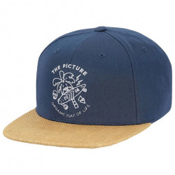 Casquette PICTURE Beaver Dark Blue