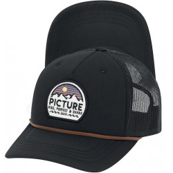 Casquette PICTURE Kuldo Full Black