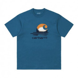 T-shirt CARHARTT WIP Lagoon Shore
