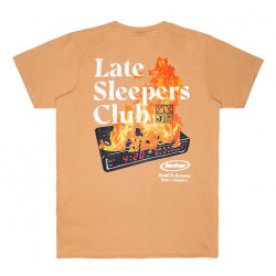 T-shirt JACKER Late Sleepers Biscuit