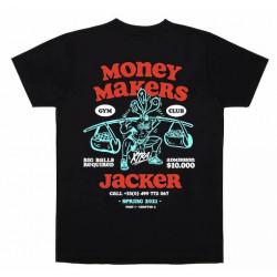 T-shirt JACKER Money Makers Black