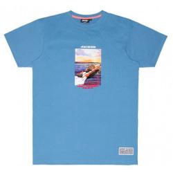 T-shirt JACKER Gibraltar Blue