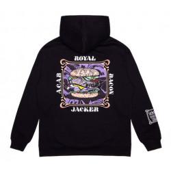 Sweat JACKER Royal Bacon Black