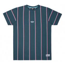 T-shirt JACKER Super Stripes Navy