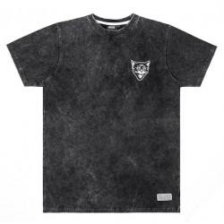T-shirt JACKER Black Cats Stone Wash