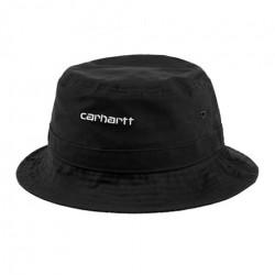 Bob CARHARTT WIP Script Bucket Black White