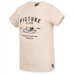 T-shirt PICTURE Eugene Beige Melange