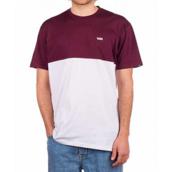 T-shirt VANS Colorblock White Port Royale
