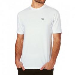 T-shirt VANS Left Chest Logo White Black