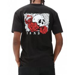 T-shirt VANS Rose Bed Black