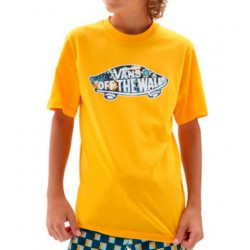 T-shirt Kid VANS Otw Logo Saffron Califas