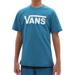 T-shirt Kid VANS Classic Moroccan Blue White