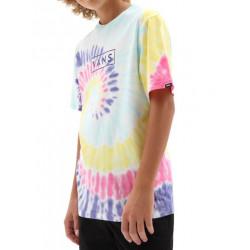 T-shirt Kid VANS Easy Box Rainbow Tie Dye