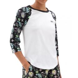 T-shirt Girl VANS Califas White