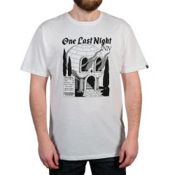 T-shirt THE DUDES One Last Night Off White