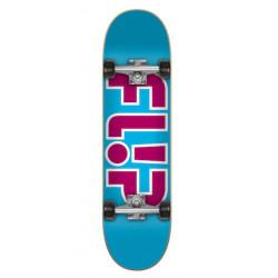 Skateboard FLIP Outlined Light Blue 7,25