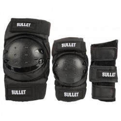 Tripack Protection BULLET Combo Junior Black