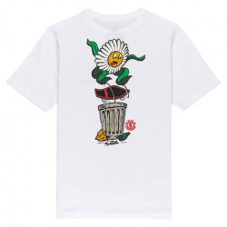 T-shirt Kid ELEMENT Canfield Optic White