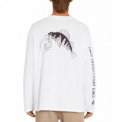 T-shirt VOLCOM Loose Trucks LSE White