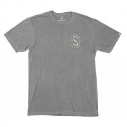 T-shirt SALTY CREW Lurker Overdyed Asphalt