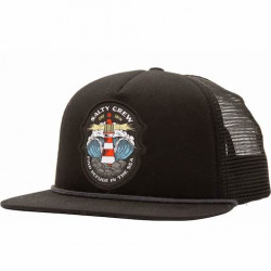 Casquette SALTY CREW Beacon Trucker Black