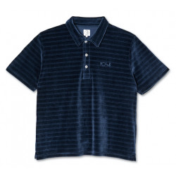Polo POLAR Stripe Velour Navy