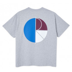 T-shirt POLAR 3 Tone Fill Logo Sport Grey