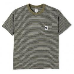 T-shirt POLAR Stripe Pocket Army Green
