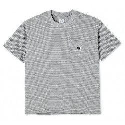 T-shirt POLAR Stripe Pocket Grey