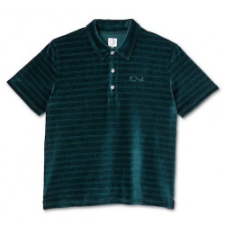 Polo POLAR Stripe Velour Dark Green