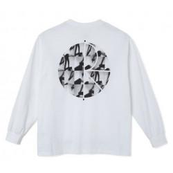 T-shirt POLAR Sequence Fill Logo White