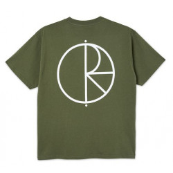 T-shirt POLAR Stroke Logo Uniform Green