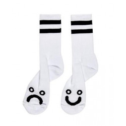 Chaussette POLAR Happy Sad White