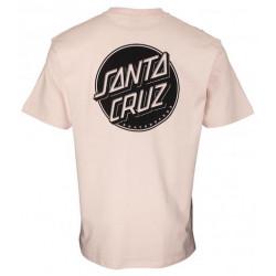 T-shirt SANTA CRUZ Contra Dot Mono Mushroom