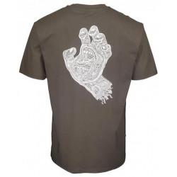 T-shirt SANTA CRUZ Muerte Screaming Hand...