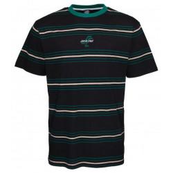 T-shirt SANTA CRUZ Bones Black Stripe