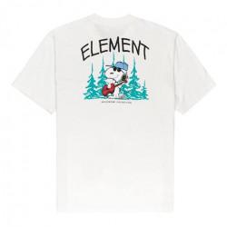 T-shirt ELEMENT Peanuts Good Times Optic...