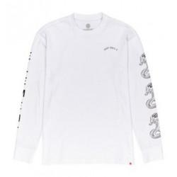 T-shirt ELEMENT Karlov Optic White