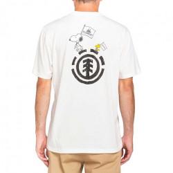T-shirt ELEMENT Peanuts Slide Off White