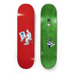 Skateboard POLAR Dane Brady Painter Red