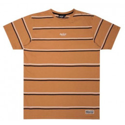 T-shirt JACKER Poh Stripes Biscuit