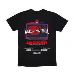T-shirt JACKER World Tour Black