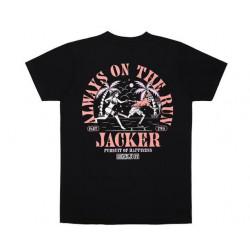 T-shirt JACKER Great Escape Black