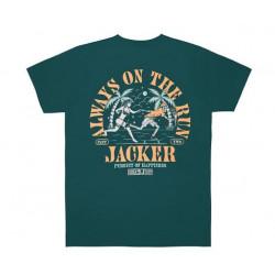 T-shirt JACKER Great Escape Dark Teal