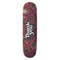 Skateboard THANK YOU Paisley Logo 8,12