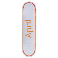 Skateboard APRIL OG Logo Orange